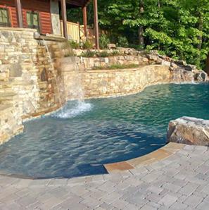 Atlanta Custom Swimming Pool Builders│Blue Haven Pools