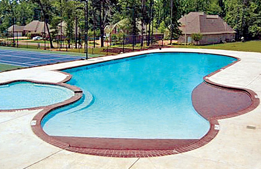 Zero/Beach Entries - Blue Haven Custom Swimming Pool and Spa Builders
