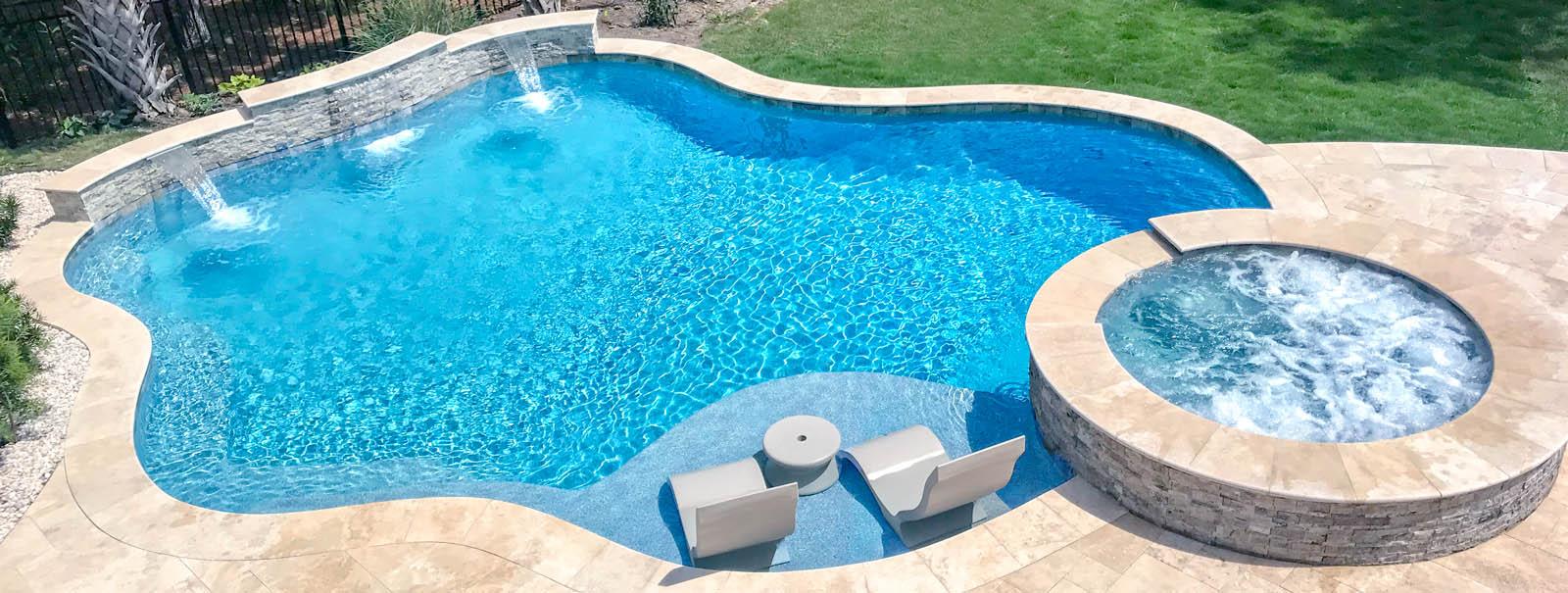 Custom Inground Pool Builder Beaumont Tx