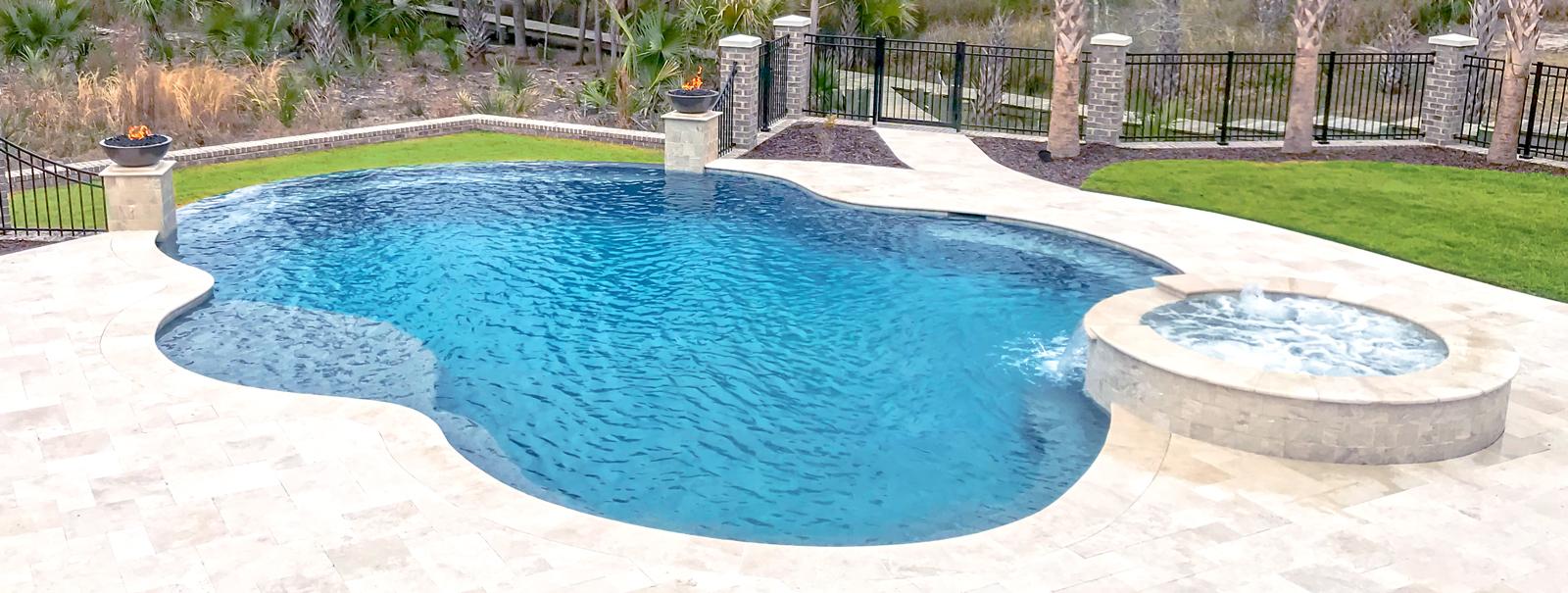 Charleston Custom Swimming Pool Builders│Blue Haven Pools