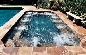 Large Gunite spa