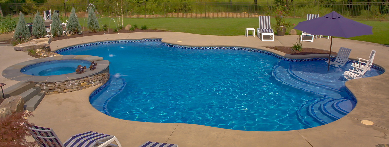Harrisburg Lancaster Custom Swimming Pool Builders│Blue ...