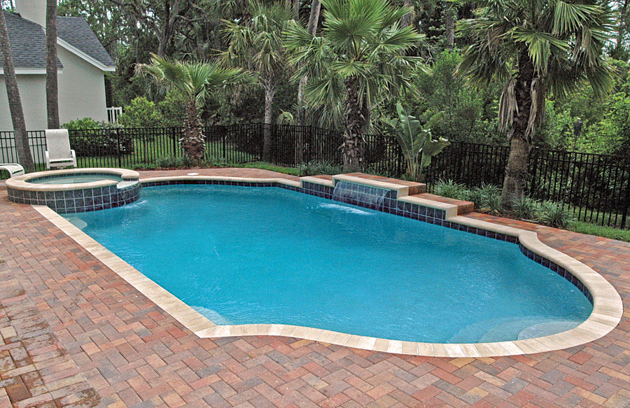 Gallery blue haven custom swimming pool and spa builders for Pool design jacksonville fl