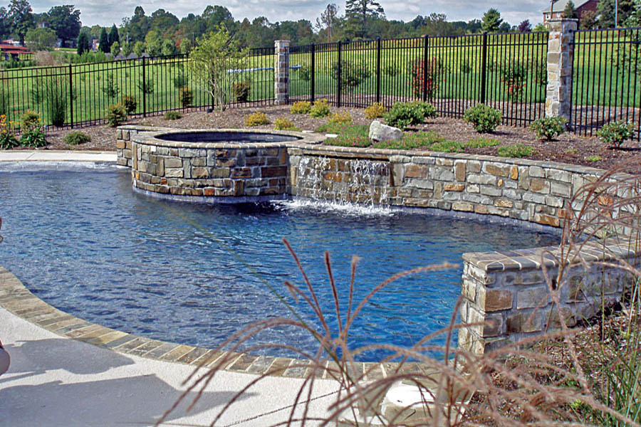 Gallery blue haven custom swimming pool and spa builders for Pool trade show las vegas