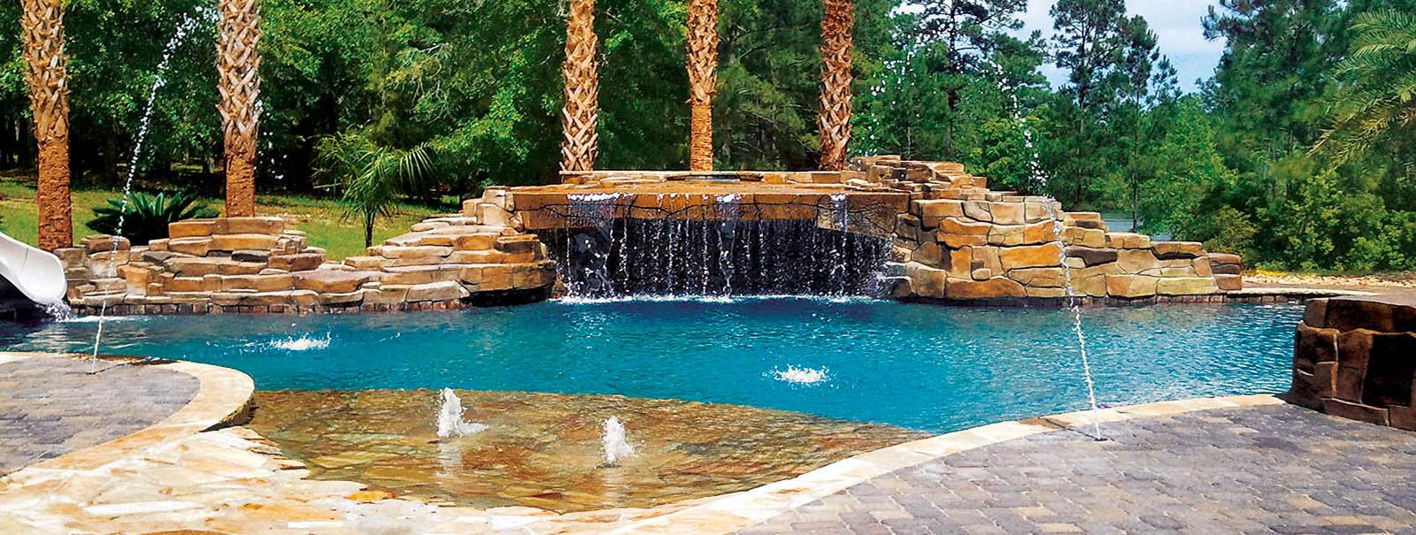Mobile Custom Swimming Pool Builders Blue Haven Pools