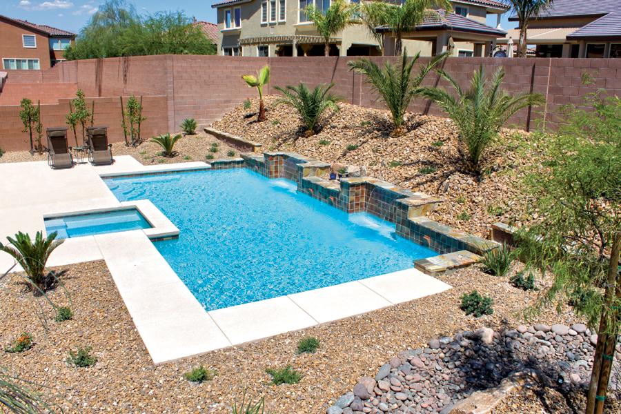 Inground Pool Design Pictures North Las Vegas Nv