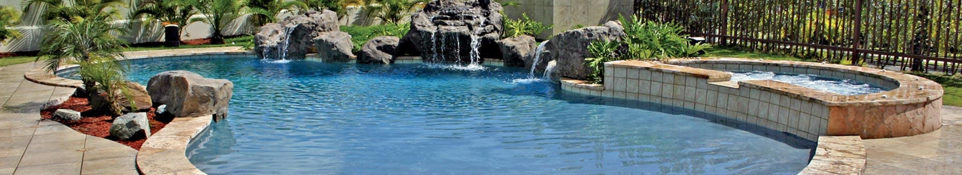 Inground-pool- w-rock-waterfall