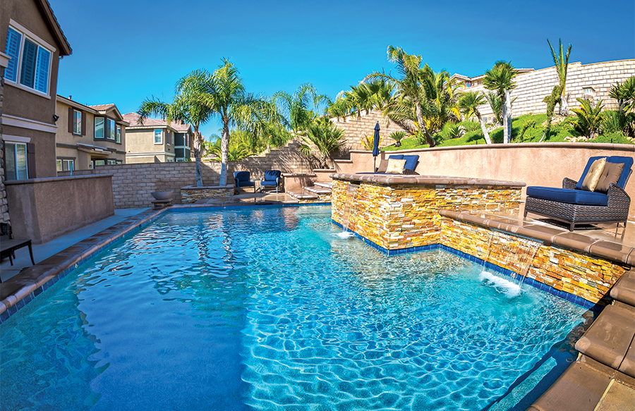Gallery blue haven custom swimming pool and spa builders - Palm springs swimming pool contractors ...