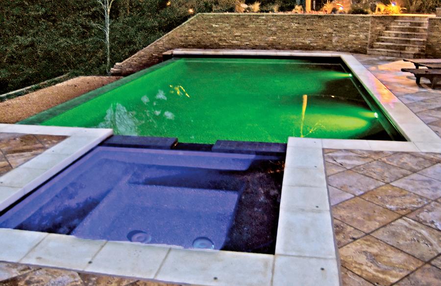 Pool Lighting Photos | Blue Haven Pools