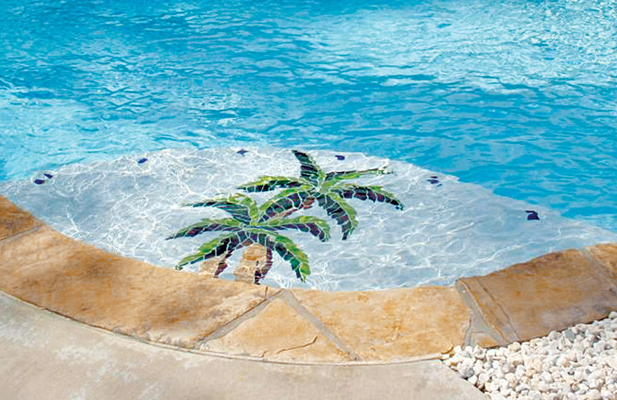 Pool Mosaics Photos | Blue Haven Pools