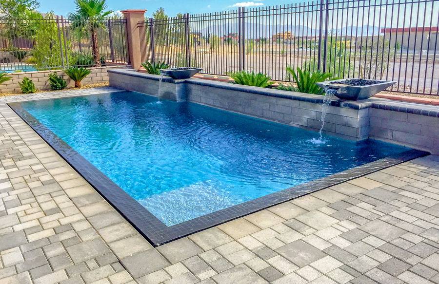 Rectangle Inground Pools Pictures   Blue Haven