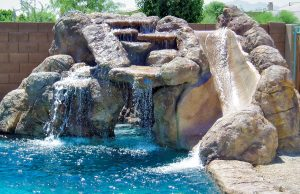 rock-waterfall-slide-pool-420a