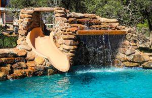 Rock Waterfall Slide