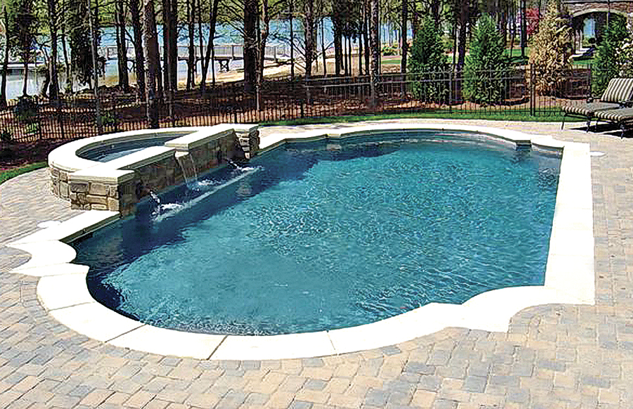 roman grecian pools blue haven custom swimming pool