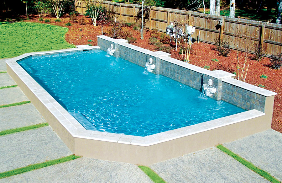Roman Grecian Pools Blue Haven Custom Swimming Pool And Spa Builders