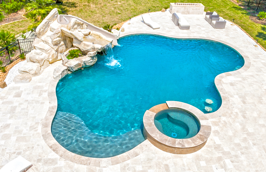 Free Form Pool Ideas Shapes And Pictures Blue Haven