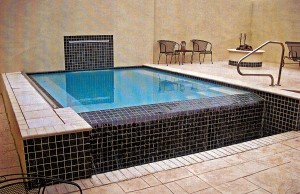 small vanishing edge pool