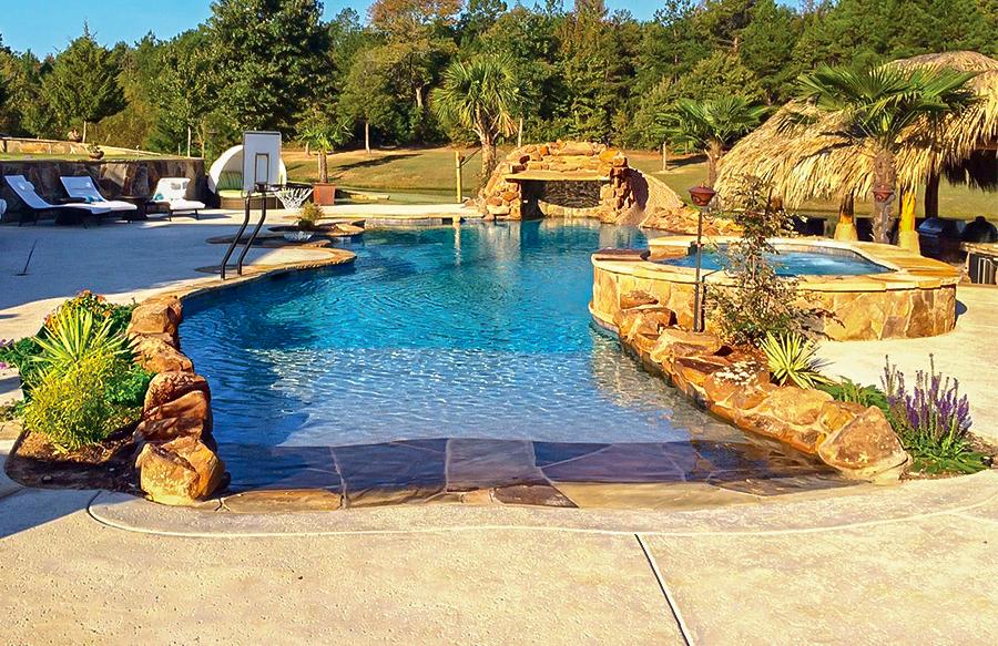 Zero/Beach Entry Pool Photos | Blue Haven Pools